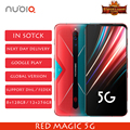 2020 New Nubia Red Magic 5G Global Version Gaming phone Snapdragon 865 8/12 GB RAM 128/256GB ROM 144Hz refresh rate Smartphone