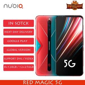 2020 Новый Nubia Red Magic 5G глобальная версия игрового телефона Snapdragon 865 8/12 ГБ ОЗУ 128/256 Гб ПЗУ 144 Гц Частота обновления смартфона
