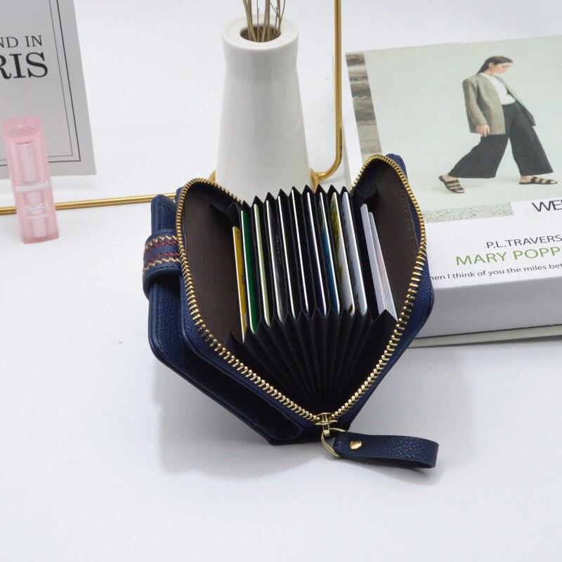 Wallet Women Short Coin Purse 2020 New Trendy Ladies Organ Card Bag Embroidered Wallet Portefeuille Femme Billetera Mujer 2020