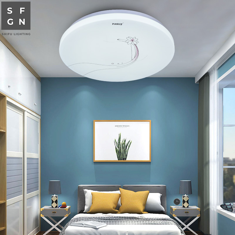 US $15.0 25% OFF|led ceiling light modern lamps bedroom lighting balcony  aisle study Dust proof Anti mosquito Surface home lights indoor lamp-in ...