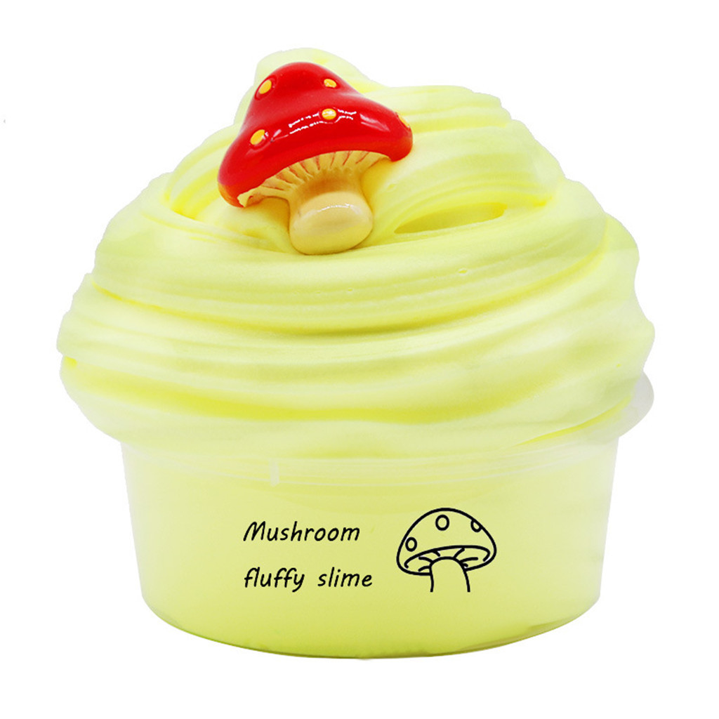 HINST Children's Toys Slime DIY Slimes Supplies Fruit Kit Cloud Slimes Aromatherapy Pressure Children Slime Toy
