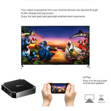 กล่องสมาร์ททีวี X96 Mini Android 7.1 s905w 1 GB RAM 8 GB HDTV 4 K IPTV 5 Core(China)