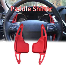 Aluminum Steering Wheel Paddle Shifter Gear Shift Shifter Extension for BMW F30 F31 F32 F10 F20 F22 F15 F16 X1 X3 X4 X5 X6 (Red
