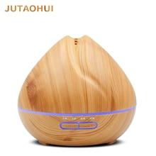 JUTAOHUI 500ML Air Humidifier Essential Oil Diffuser Humidificador Mist Maker 7 Color LED Aroma Diffusor Aromatherapy for home diffusor p315 7