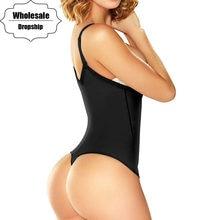 NINGMI odchudzanie urządzenie do modelowania sylwetki kobiety Body gorset Waist Trainer brzuch mocna kontrola Shapewear szczupła guma lateksowa stringi Underbust Dress