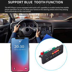 Image 3 - Kebidu Wireless MP3 WMA Decoder Board Remote Control Player 12V Bluetooth 5.0 USB FM AUX TF SD Card Module Car Radio MP3 Speaker