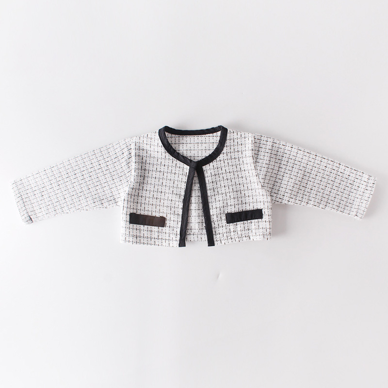 H20d1f4c689a9407e891d9bc4daefd351E Fashion Baby Rompers for Girls Plaid Infant Jumpsuit Baby Girl Romper with Coat Baby Onesie Toddler Clothes Baby Costume