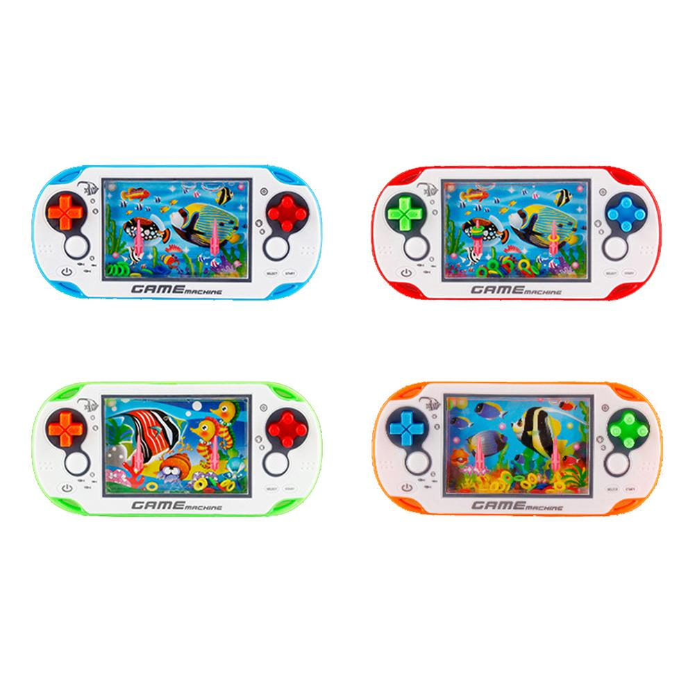 1 PCS Squishy Water Ring Toss Squeeze Toy Child Handheld Game Machine Parent-Child Interactive Antistress Game Toys For Children