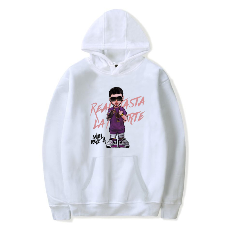 New Anuel AA Hip Hop Men Sweatshirts Pullover Streetwear Hoodie Hooded Fleece Hoody Jacket Coat Casual Wear Male/women Sudaderas