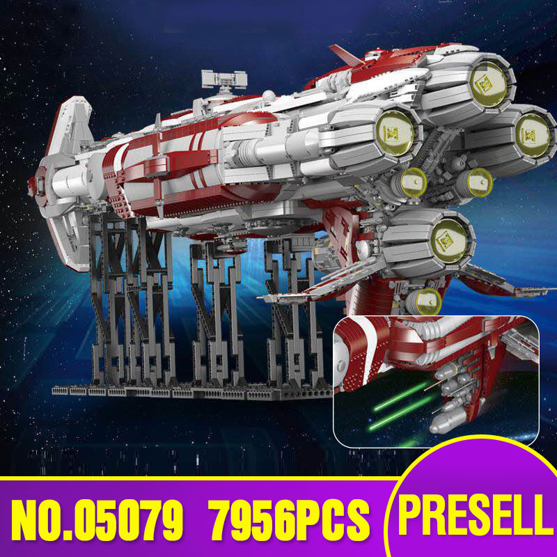 05079 Star Toys Wars The MOC Zenith Old Republic Escort Cruiser Model Compatible With Legoing Building Blocks Kid Christmas Gift