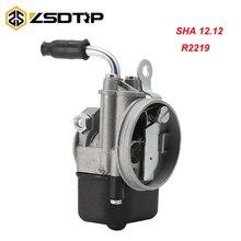 ZSDTRP Carburetor SHA 12.12 R2219 For PIAGGIO Ciao PX FL VESPA moped pocket SHA 12/12 Dellorto Carbs