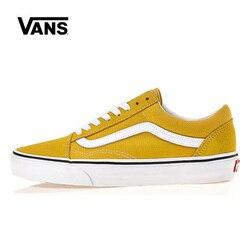 Original Leisure Vans Old Skool Low Shoes Women Sneakers Unisex Skateboarding Vans Men Shoes VN0A38G1VRQ