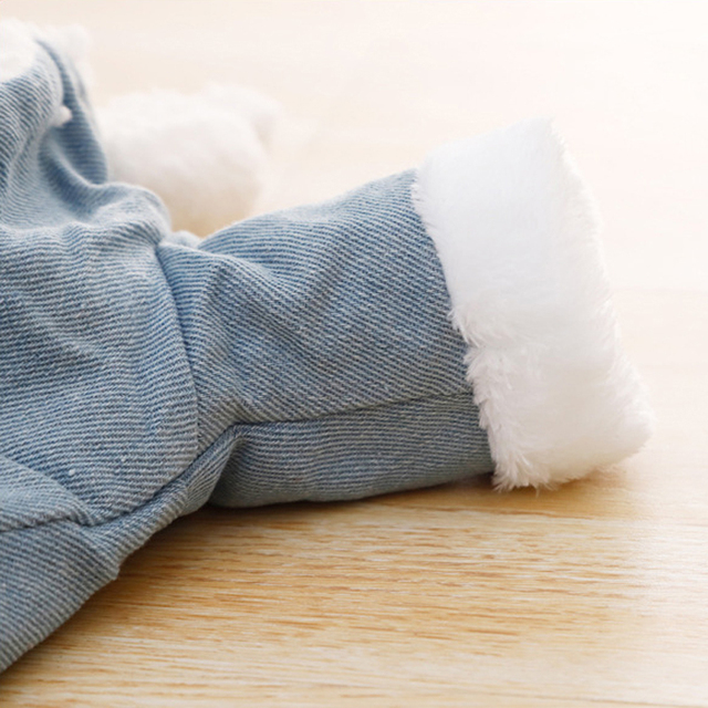 Fashion Fleece Lined Denim Jacket 4