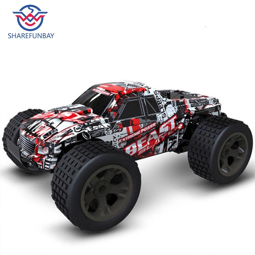 Rc voiture 2.4G 4CH rock voiture conduite voiture conduite grande voiture télécommande voiture modèle tout-terrain véhicule jouet wltoys rc voiture dérive