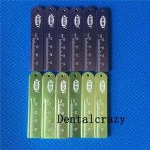 Новые 12 шт. стоматологические эндодонтические линейки, масштаб измерения, эндодонтические, сделанные в алюминии