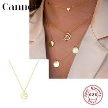 Автоклав натуральная 925 стерлингового серебра колье ожерелье