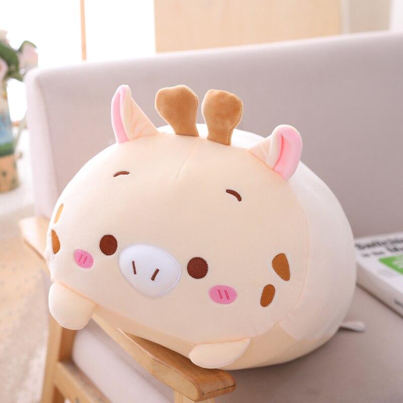90cm Panda peluche Animal dinosaure & cochon & chat & ours Kawaii peluche jouet doux dessin animé Hamster & éléphant & cerf peluche poupée bébé oreiller cadeau - 6