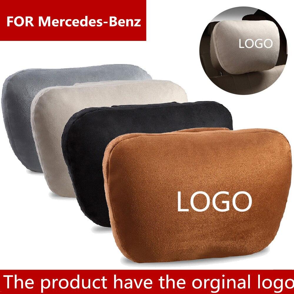 Appui-tête de voiture Super doux de classe S de conception de Maybach/coussin de repos de cou de tête de couverture de siège automatique/oreiller réglable de voiture pour mercedes-benz