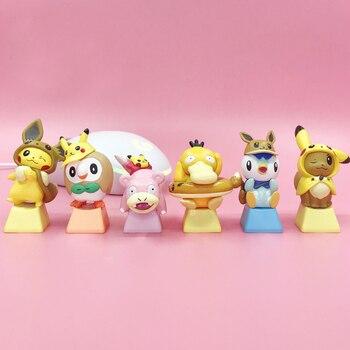 DIY Key cap creativity Elf mechanical keyboards keycap personality design,Cartoon anime modeling keycaps Cherry MX axis