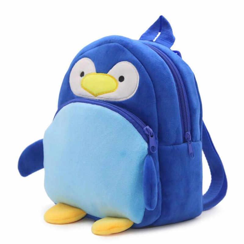 Novo Pinguim Azul Brinquedo Dos Desenhos Animados Personagem Unisex Mini Boneca De Pelucia Mochila Saco Mochilas De Pelucia Aliexpress