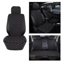 Coprisedile per Auto protezione anteriore posteriore posteriore cuscino per sedile tappetino con schienale per Auto Automotive camion interno Suv o furgone