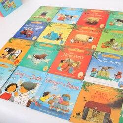 Usborne farmyard contos livros em inglês crianças famosa educação história livro 20 pçs/set