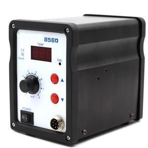 Image 4 - אוויר חם אקדח 858D BGA עיבוד חוזר הלחמה תחנת מפוח שיער מייבש מייבש שיער חום הלחמת 220V עבור SMD SMT ריתוך תיקון