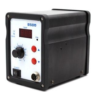 Image 4 - Hot Air Gun 858D BGA Rework Solder Station Blower Hair Dryer Hairdryer Soldering Heat Gun 220V For SMD SMT Welding Repair