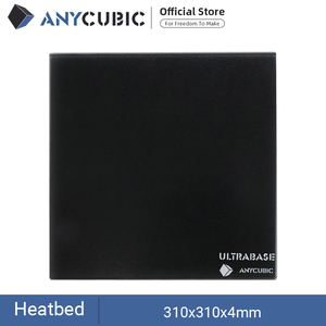 Image 1 - ANYCUBIC Ultrabase для 3D платформа для печати с подогревом кровать сборная поверхность стеклянная пластина для MK2 MK3 Горячая