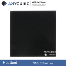 ANYCUBIC Ultrabase For 3D Printer Platform Heated Bed Build Surface Glass plate 310x310x4mm for MK2 MK3 Hot bed