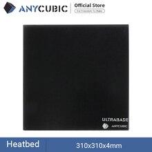 Anycubic Ultrabase Voor 3D Printer Platform Verwarmd Bed Bouwen Oppervlak Glas Plaat 310X310X4Mm Voor MK2 MK3 Hot Bed