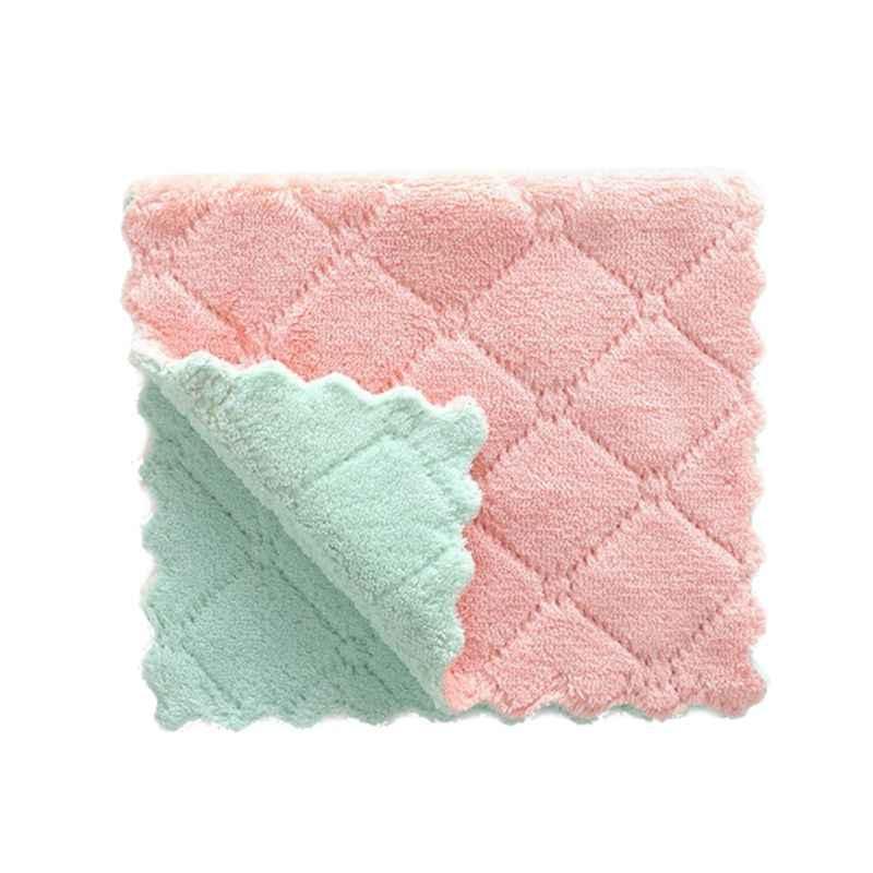 27X16 Cm Handuk Mandi untuk Bayi Lembut Bayi Bayi Kain Lap Wajah Handuk Selimut Super Penyerap Cleaning Procedure Y4QA