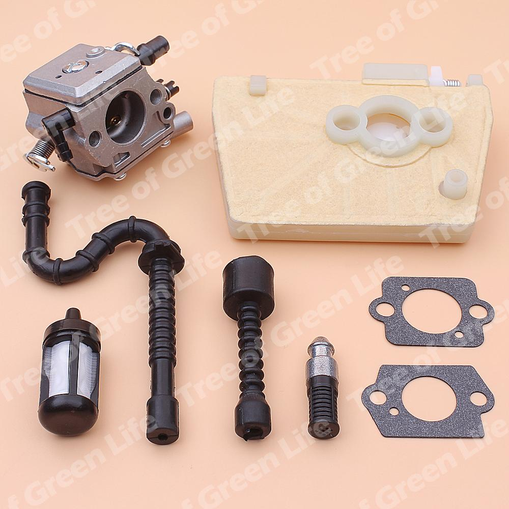 Tools : Carburetor Carb For Stihl 038 MS380 MS381 Air Fuel Oil Fitler Line Chainsaw 1119 120 0650 1119 120 1607