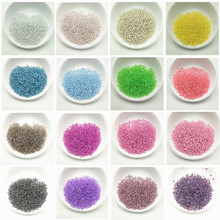 10gram/lot 2mm Colorful Hole Glass Czech Seed Beads Loose Spacer Beads DIY Bracelet Necklace for Jewelry Making Accessories 1020pcs lot 2mm czech cylindrical glass tube bugle beads diy bracelet necklace loose beads for jewelry making accessories
