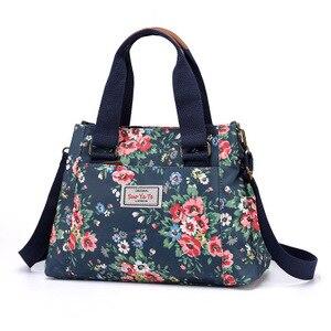 Универсальная повседневная женская сумка через плечо, Большая вместительная сумка для путешествий, водонепроницаемая нейлоновая сумка, св...