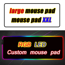 Custom Led Mouse Pad Computer Mausepad Xxl Backlit Mat Genshin Impact Mause Gamer Overwatch Gaming Mouse for Bears Rgb Carpet