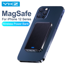Magsafe-Charger Power-Bank External-Battery Magnetic iPhone Wireless 4000mah Mini YKZ