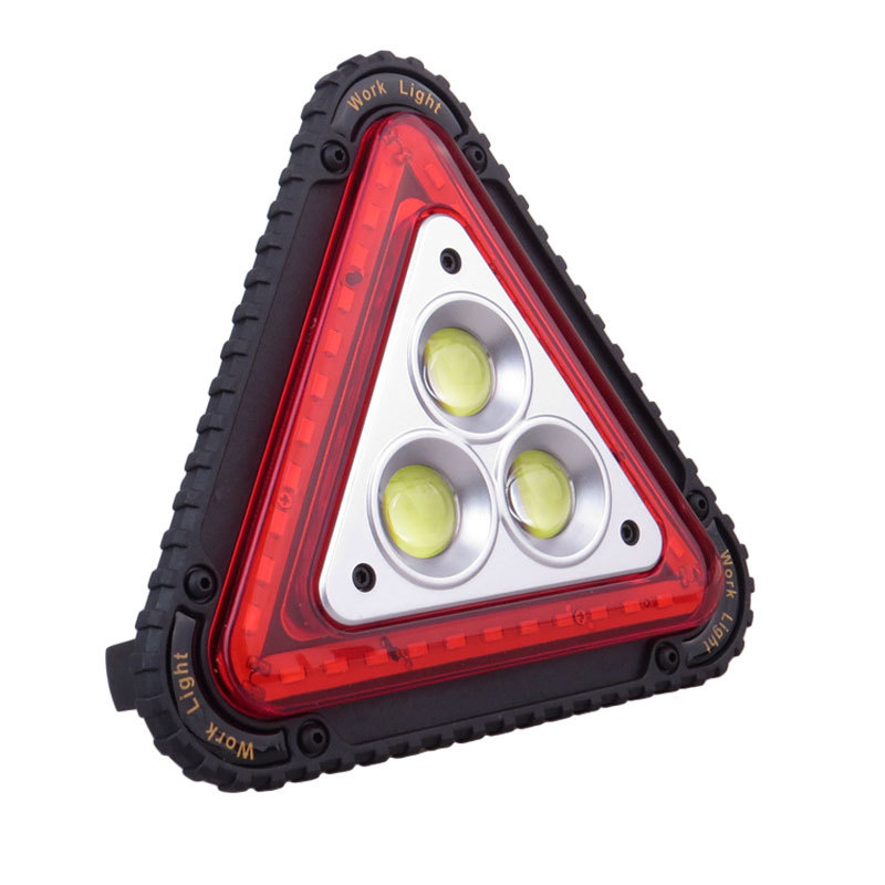 LED Working Lamp Portable Waterproof Triangular Warning Light For Camping Hiking Emergency GY88