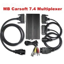 2020 Professiona English MCU Controlled Interface For MB Carsoft 7.4 Multiplexer Diagnostic Tool Carsoft 7.4 Drop Shipping