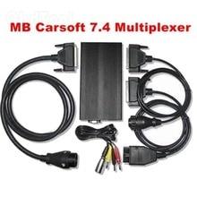 2020 professional inglês mcu controlado interface para mb carsoft 7.4 multiplexer ferramenta de diagnóstico carsoft 7.4 transporte da gota