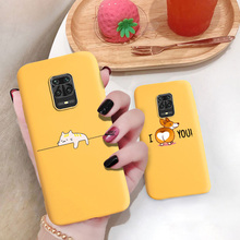 Lovely Cat Cactus Banana Phone Case For Xiaomi Redmi Note 9 Pro 9S Case Redmi Note9 8 7 Pro 8T 9T 9C NFC 9A 8A 7A Cover Fundas
