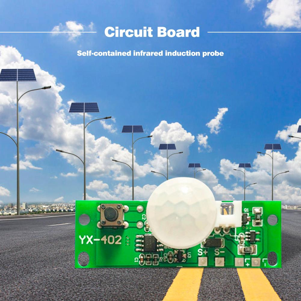 Solar Lamp Circuit Board Control Sensor Night Light Controller Module Electrical Equipment and Supplies 3.7V