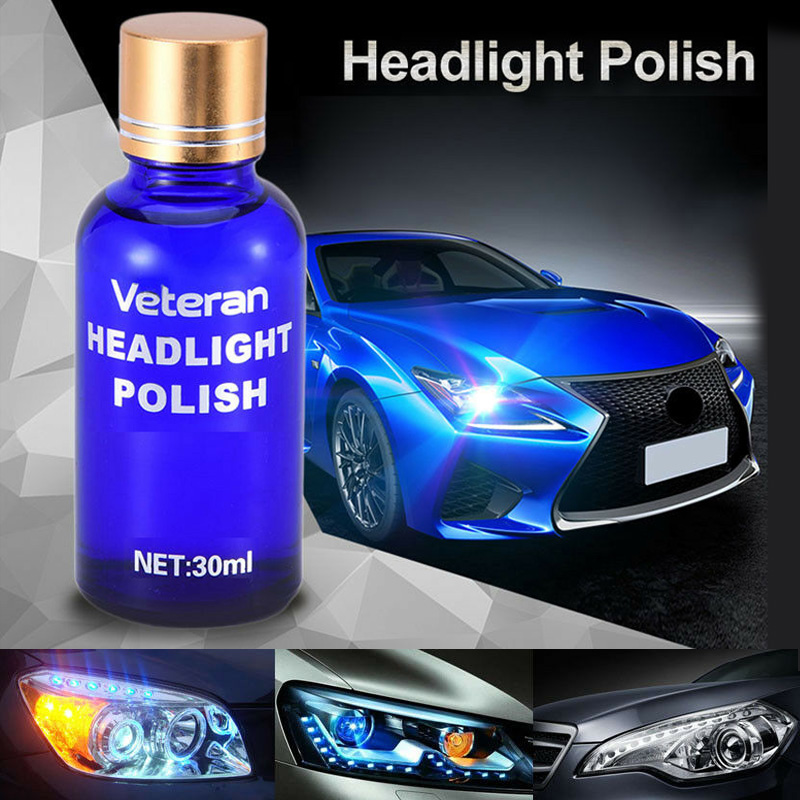 Headlight Lens Restoration System Repair Kit <font><b>Car</b></font> Plastic <font><b>Light</b></font> Polishing <font><b>Cleaner</b></font> image