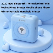 GOOJPRT PeriPage Mini Pocket Wireless BT Thermal Printer Picture Photo Label Memo Receipt Paper Printer with USB Cable Support f cheap usb bluetooth serial pos58 thermal receipt bill ticket printer with cash box port support multiple languages