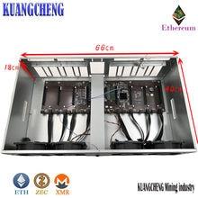 Die neue gebaut-in IC847 upgrade-version, das neue motherboard verdickt elektrolytischen bord chassis 8 grafikkarte ETH ZEC XMR Min