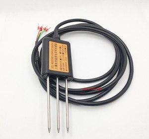 Image 3 - Capteur de sol 3 en 1 conductivité + température + humidité/capteur de conductivité du sol RS485/capteur de température et dhumidité du sol