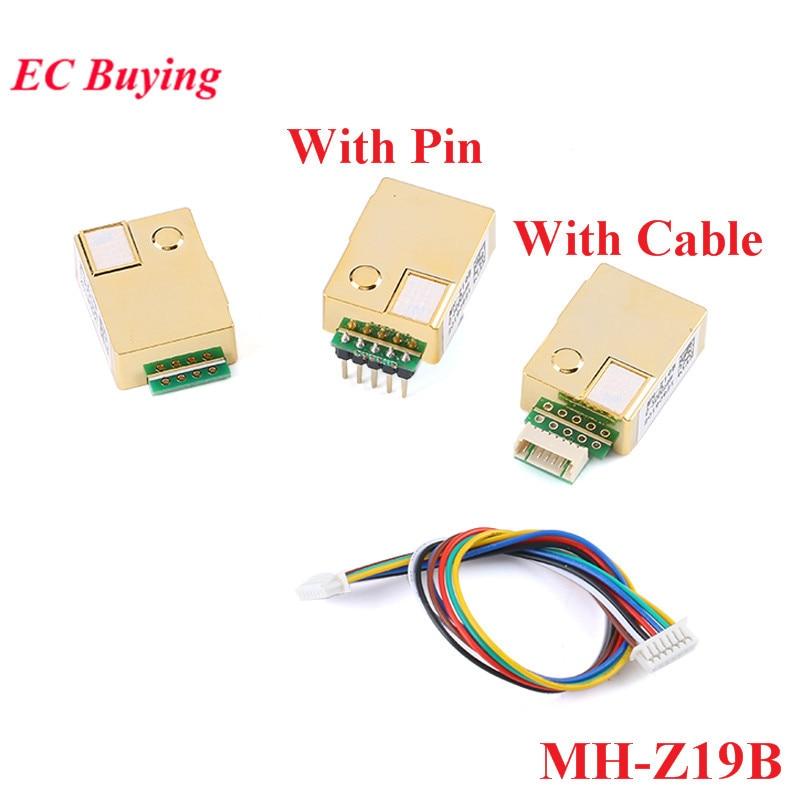 MH-Z19 MH-Z19B Infrared CO2 Sensor Module Carbon Dioxide Gas Sensor For CO2 Monitor 0-5000ppm MH Z19B NDIR
