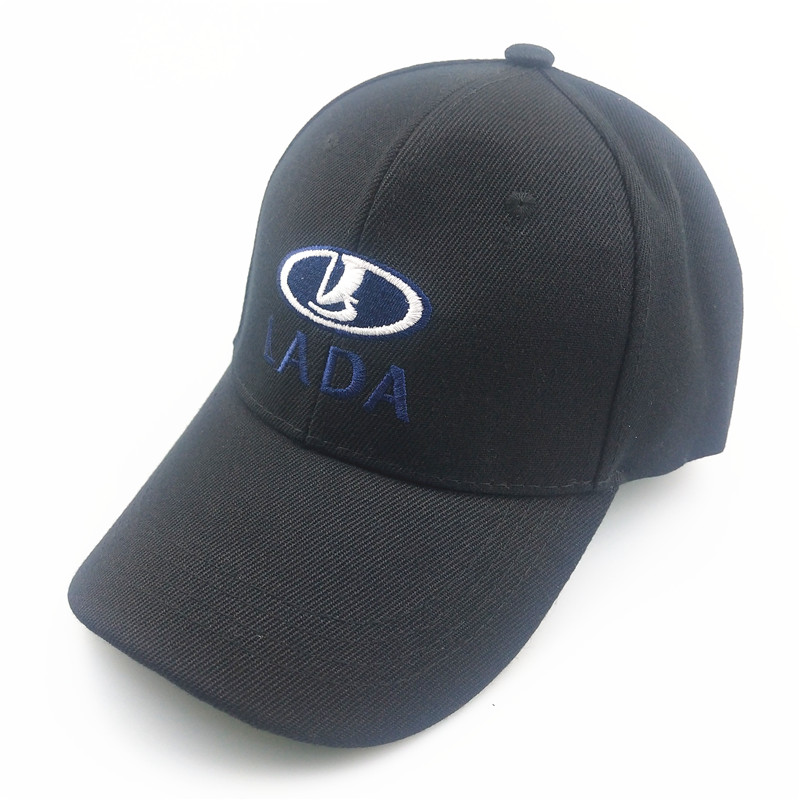 2019 New Women Men Baseball Cap Solid Color Outdoor Adjustable Embroidered For Lada Car Cap Women's Hats Summer Black Color