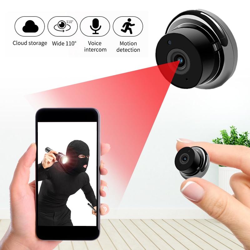 1080P Wireless Mini WiFi Camera  IP Home Security Camera IR Night Vision Motion Detect Baby Monitor P2P  CCTV Surveillance