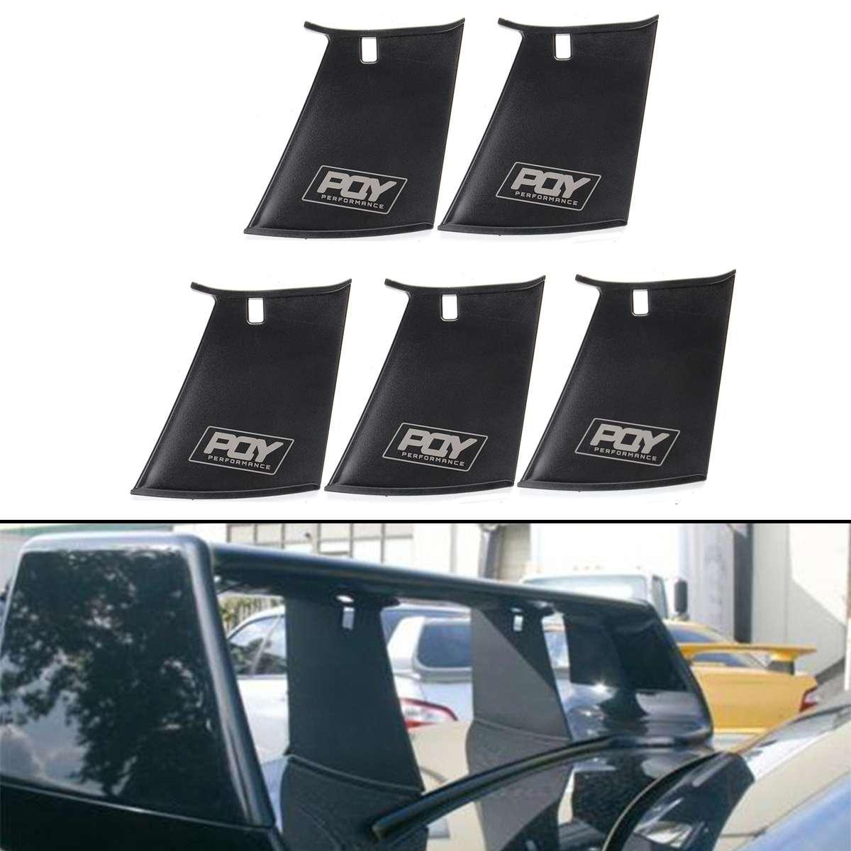 Новинка Автомобильный задний спойлер стабилизатор крыла Бампер Подставка для Subaru Impreza 2002-2007 WRX STi жесткий спойлер крыло поддержка стабилиза...